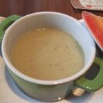 ラバーマ - スープ:さつまいものポタージュ♪