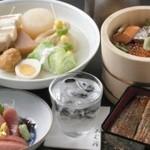 おぐ羅 - 料理写真:じんわりやさしい、おでんに出汁茶漬け。