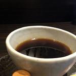 宇治創 こころ - セットドリンクのコーヒー200円