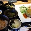 楽てん - 料理写真:日替わり(つくねの白菜包み・和風きのこソース)