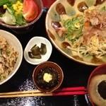 沖縄ダイニング 海とぅ島 - 選べるちゃんぷる〜定食