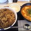 松屋 - 料理写真:牛丼・豆腐キムチチゲセット