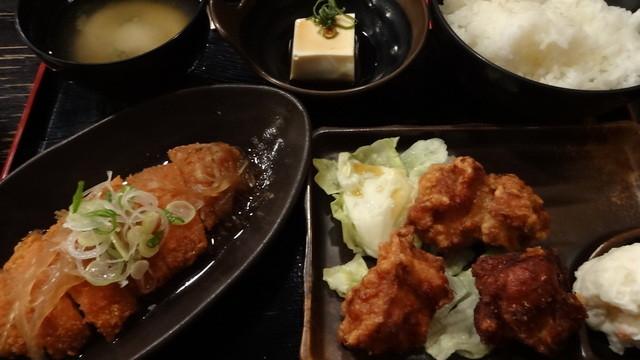 ぢどり亭 , 日替り定食:700円 (2013/2)