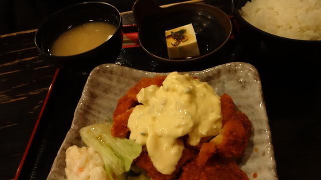 ぢどり亭 , チキン南蛮定食:750円 (2013/2)