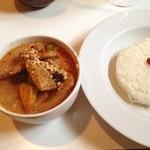17327119 - 世界で一番美味しい料理に選ばれたというマッサマンカレー