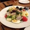 ラキュイエール - 料理写真:燻製マグロの南仏風サラダ(1,000円)2013年2月