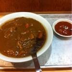 大沢食堂 - 「カレーラーメン」+「一口激辛」