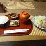 茶房 あゆみ - 日替わり。チキンステーキ