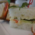 ノイモンドオーガニックカフェ - ポテトサラダサンド
