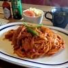 チックタック - 料理写真:ナポリタン(サラダ/スープ付) 800円