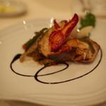 レストラン TuTu - ローストビーフの代わりの活オマールのポワレ