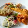トラットリア―オンベリーコ - 料理写真:6種類の前菜☆1種類だけ変わってました♪