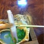 17381947 - 神戸名物!貝つぼ焼き・リフト