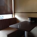 えびす珈琲 - ソファー席がメインです。
