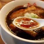 人類みな麺類 - らーめん micro(ミクロ) スープ