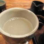 手打古式蕎麦 - そばつゆ