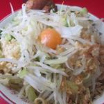 ラーメン二郎 - 汁無し豚5枚 @¥750-+¥80-ニンニク