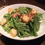 リックス カフェ アメリカン - ほうれん草のサラダ