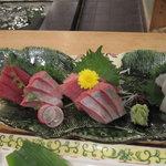築地竹若 - 刺身盛り合わせ(漁火)
