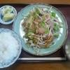 さかえ食堂 - 料理写真:野菜炒め定食。