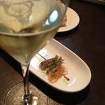 17447912 - レヴァーロ 前菜+シャンパン