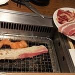 すたみな太郎 - 焼き肉♪サムギョプサルとホルモンが美味しかったです。