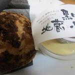 パティスリー 麓 - 「地蔵ぷりん」と「そば粉のシュークリーム」