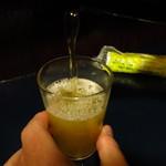 仲よし - ビール(大ビン)600円
