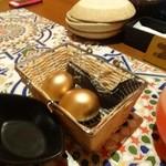 アラビアンロック - お通しは金の卵