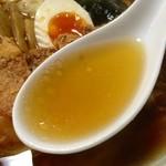 盛京亭 - スープ:とりがららーめん