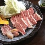 焼肉の一休 - 焼肉ランチ(1575円)