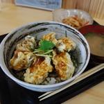 海賊亭 - カキ丼定食