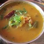 17469505 - サンバルです 野菜たっぷりのスープです