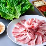 鶴橋ホルモン本舗 - ≪こだわり≫サムギョプサル ※1人前 1200円★牛肉よりあっさりしていて大人気なヘルシー料理です。