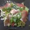 ピエモンテ - 料理写真:生ハムとルッコラのサラダ仕立て