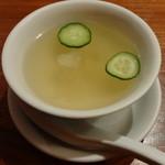 17485877 - 白木耳と野菜のスープ