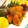 海鮮市場 - 料理写真:塩水ウニの刺身〜