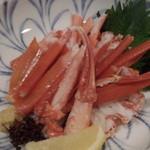 鮨とおつまみ 百万遍 つむぎ - 鮨とおつまみ 百万遍 つむぎのかに酢(12.04)
