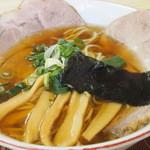 支那そば心麺 - 醤油チャーシュー麺!!透きとおった名古屋コーチンのスープ!!細麺も選べます。