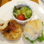 ルピシア - 軽食(上段)