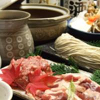 北海道産無農薬蕎麦はもちろん、酒の肴も充実