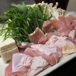舞桜 - 鴨のコラーゲン鍋