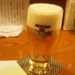 涿屋 - 生ビールはプレモル