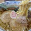 池田屋食堂 - 料理写真:大きなチャーシューが2枚入っていてそれで500円のラーメン。