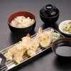 あげな - 料理写真:海老天定食