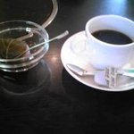 ちゃんこ一番 - 日替わりデザート(桜餅)&ドリンク(ホットコーヒー)