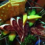 酒場 ミラクル商會 - スペイン産腸詰め 580円