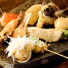 新宿 立吉 - 料理写真:季節の串揚げ