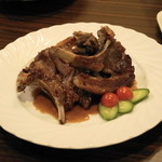 ウランバートル - シャルスン・ハビルガ(1個600円)ラム肉のスペアリブ焼き