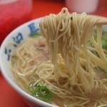 元祖長浜屋 - 麺